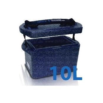 Caja de transporte de bolsas de sangre - modelo BlueLine 10 Litros