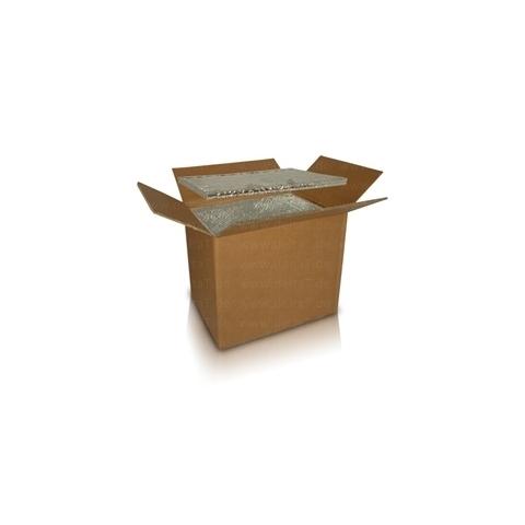 Caja con aislamiento por vacío, descartable 115 Litros