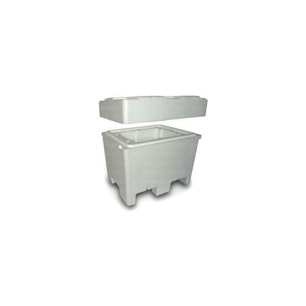 CYPSAPOR Caja Isot/érmica con Tapa 5.4 LTS Poliestireno Expandido 2 Unidades