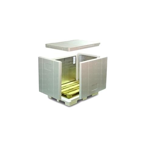 Palet aislado de poliestireno expandido EPS VIP Pallet Shipper 1200L Standard