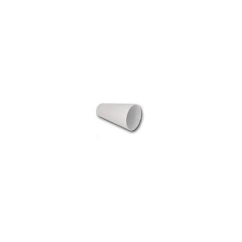 Boquilla adaptador plástico reutilizable, diseño tubo redondo