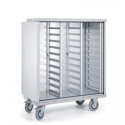Circuito de alimentos: el carro armario funcional e higiénico para el transporte de comida