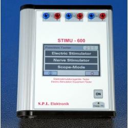 Test de funcionalidad de equipos de electroterapia según UNE-EN 60601-2-10
