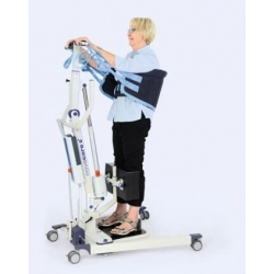 Grua de bipedestación de paciente en aluminio ultraligero