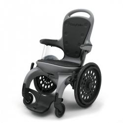 EasyRoller silla de ruedas a-magnética libre de componentes metálicos para resonancia magnética y otras aplicaciones