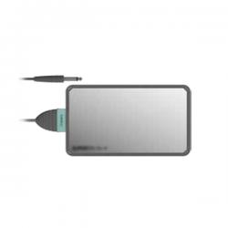 Electrodo neutro acero inoxidable con perfil en goma 120x210mm